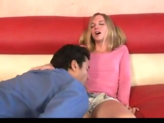 Baby sitter surprise shemale bareback shemale small tits