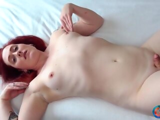 Kiley Jane Cums For You! shemale hd shemale red head shemale solo shemale