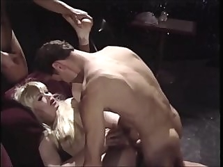 Kelly Michaels Hot Threesome shemale