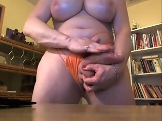 Fat transsexual with hung cock shemale amateur