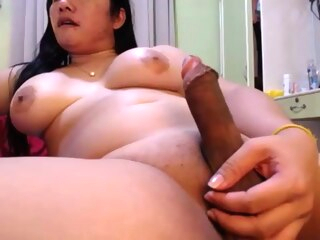 sleazy lady-man Jerk And agonorgasmos overweight shemale masturbation