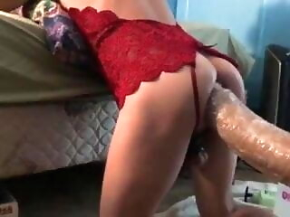 Broken asses big cock sex toy solo